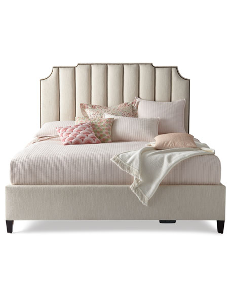 Bayonne Channel Tufted California King Bed