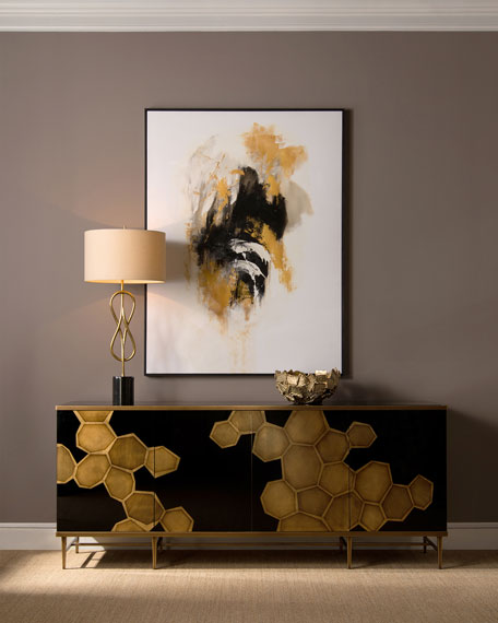 John-Richard Collection Honeycomb Credenza
