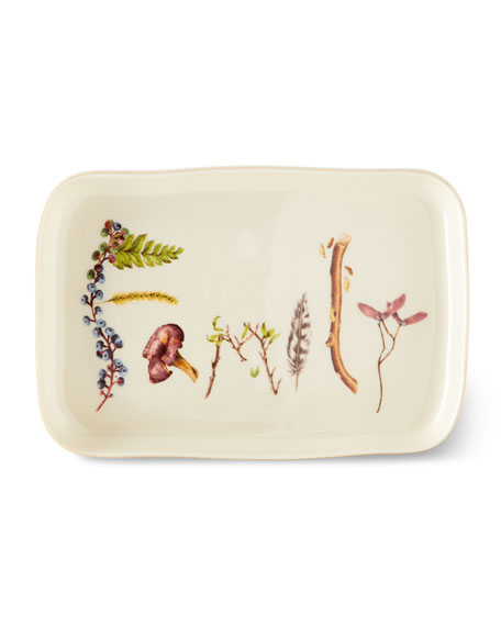 Juliska Forest Walk Family Gift Tray