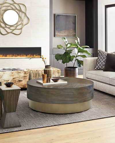 Profile Round Coffee Table