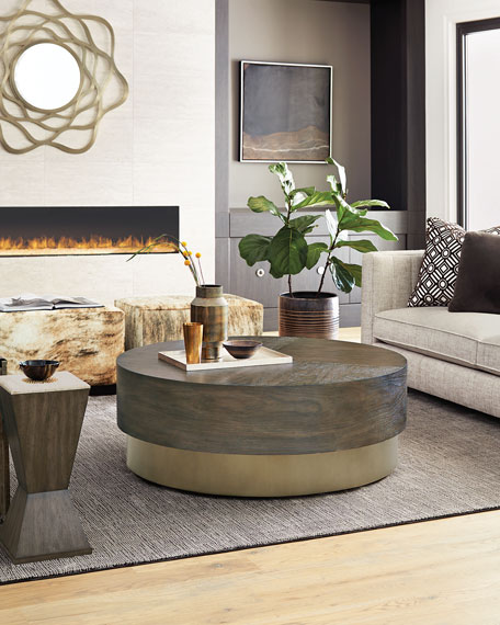 Bernhardt Profile Round Coffee Table
