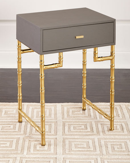 Cahill Bamboo Side Table