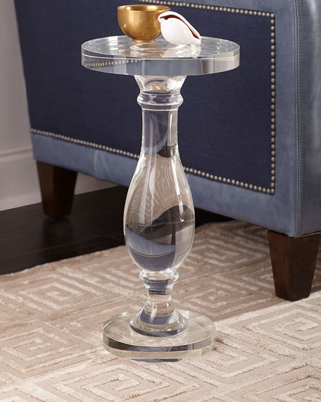 Crystal Martini Side Table