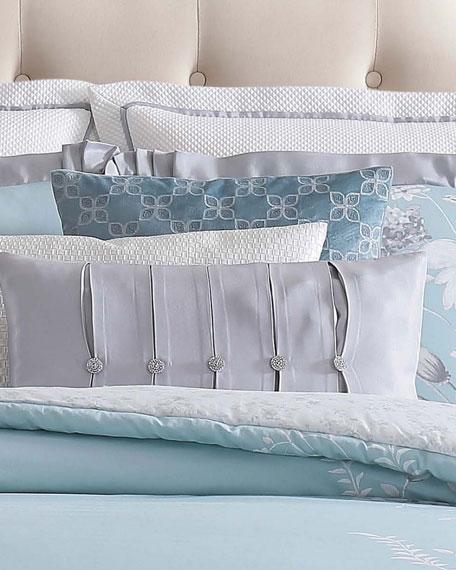 "Molani Velvet Decorative Pillow, 18""Sq."