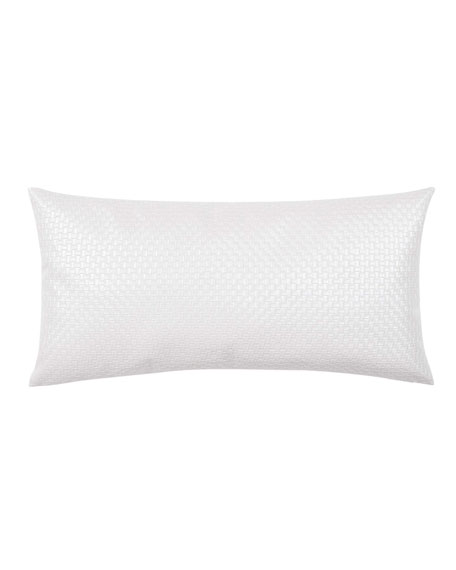 "Molani Faux-Leather Decorative Pillow, 14"" x 28"""
