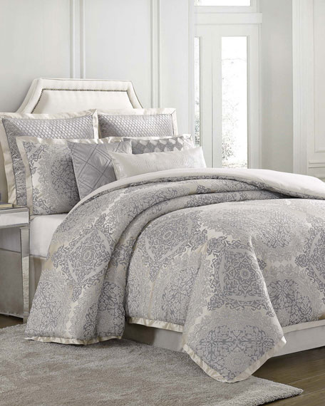 Edienne 4-Piece California King Duvet Cover Set