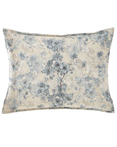Fino Lino Linen & Lace Blossom King Sham