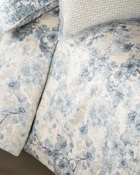 Fino Lino Linen & Lace Blossom Super King