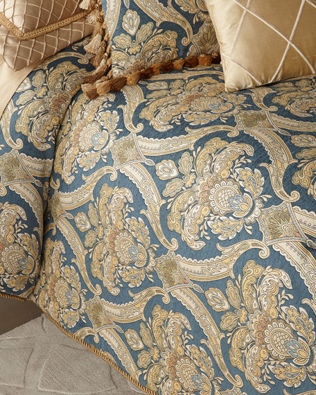 Austin Horn Collection Celia 3-Piece Queen Comforter Set
