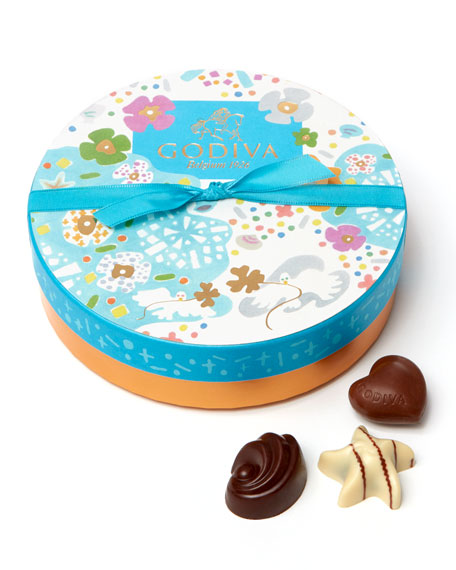 9-Piece Round Summer Gift Box