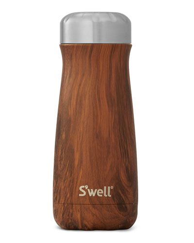 Teakwood Traveler 16-oz. Reusable Bottle