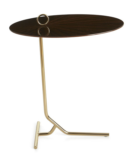 Draper Eucalyptus Martini Table