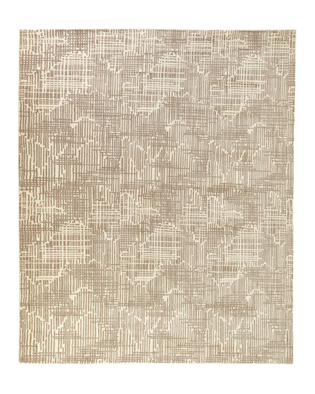 Justine Loom-Knotted Rug, 8' x 10'