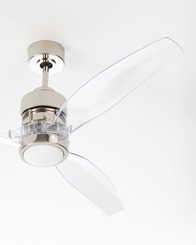 Sonet Polished Nickel Ceiling Fan  52