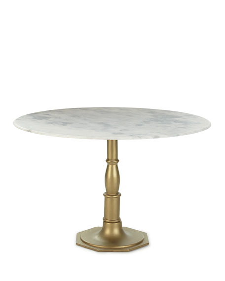 Chesney Marble-Top Bistro Table