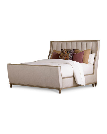 East Abbott Channel Tufted Queen Bed
