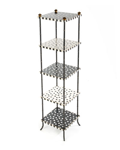 Dot Five-Tier Table