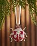 Ladybug Hanging  Christmas Ornament