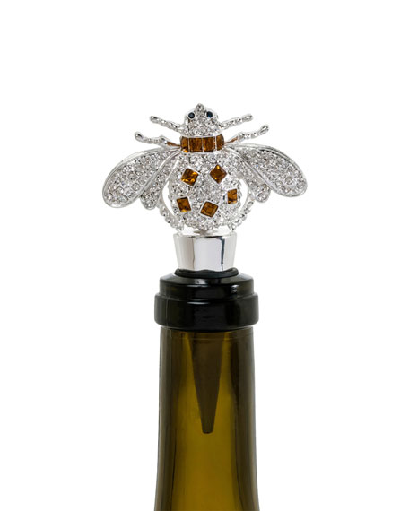 Amber Bee Wine Stopper
