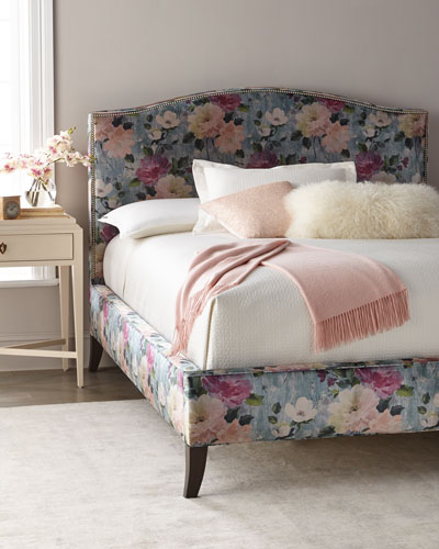 Lillie Floral King Bed