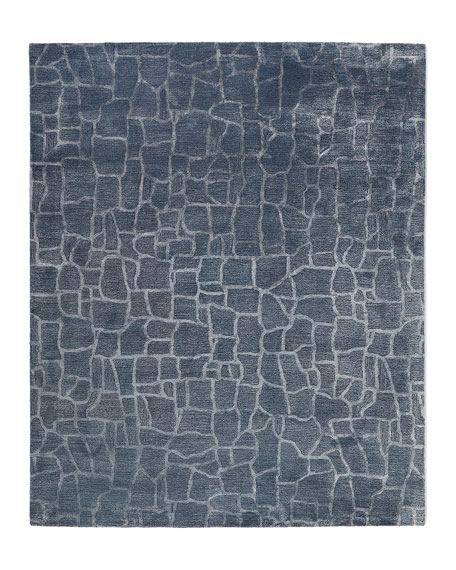 Tarelton Hand-Tufted Rug, 5' x 7.6'