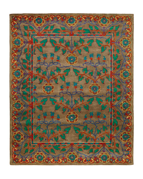 Alonso Hand-Tufted Rug, 7.9' x 9.9'