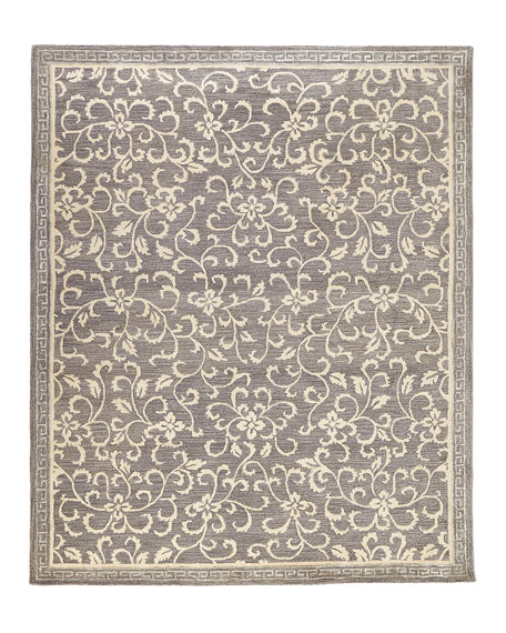 Poppy Hand-Tufted Rug, 5.6' x 8.6'