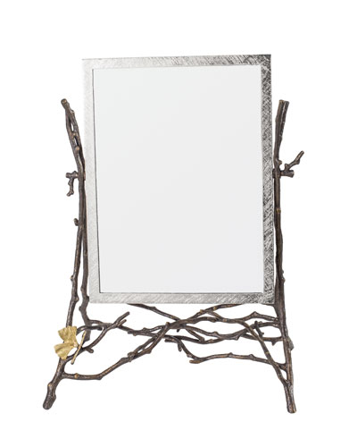 Butterfly Gingko Vanity Mirror