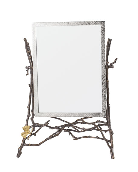 Michael Aram Butterfly Gingko Vanity Mirror