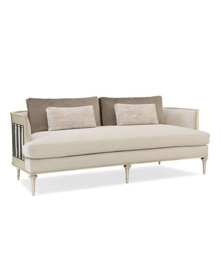 Quit Your Metal-ing Sofa