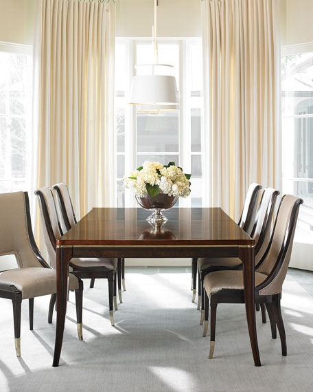 Open Invitation Dining Table with Two Leaves