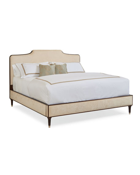 Easy On The Eyes Upholstered Queen Bed
