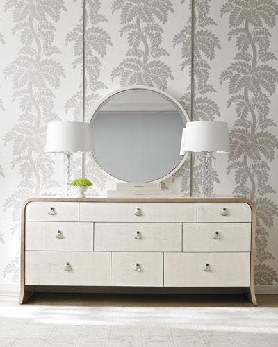 Band Of Gold Dresser Mirror