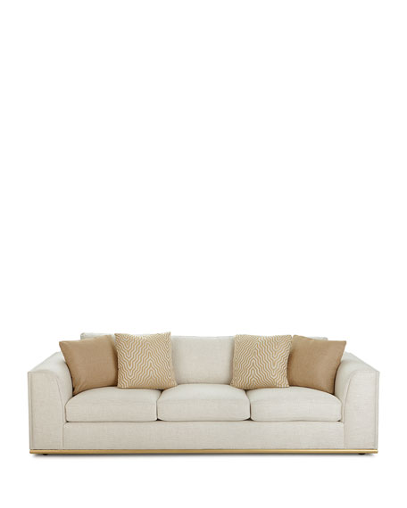 Prauge Golden-Base Sofa 107.5""
