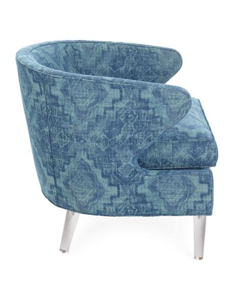Gene Acrylic-Leg Chair