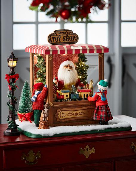 Magic of Christmas Toy Shop Santa
