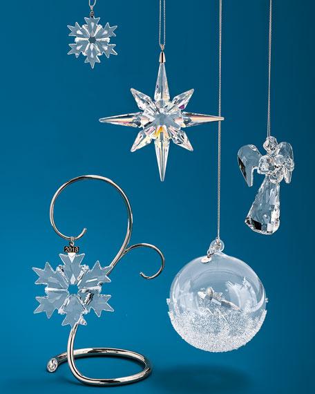 swarovski annual edition 2018 crystal snowflake christmas ornament