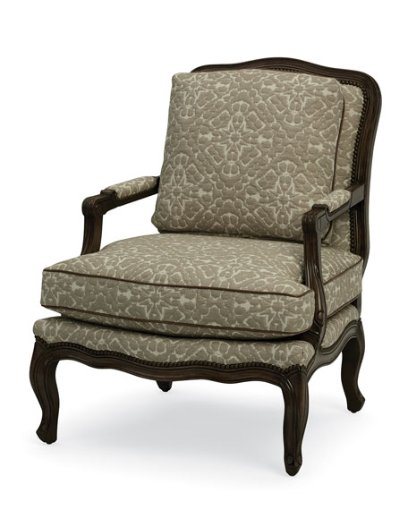 One-of-a-Kind Bergere Chair