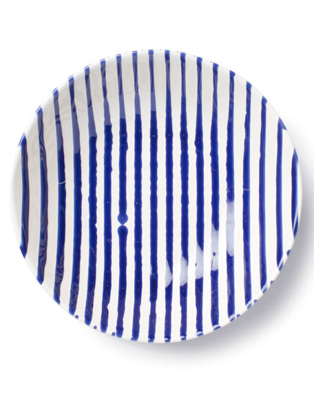 Stripe Pasta Bowl