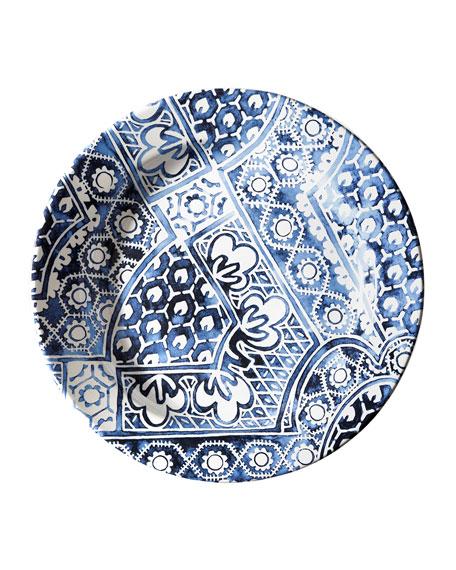 Cote D'Azur Batik Dinner Plate