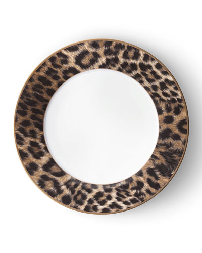 Hutchinson Leopard Dinner Plate