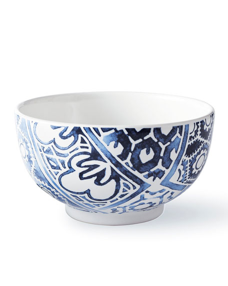 Cote D'Azur Batik Cereal Bowl