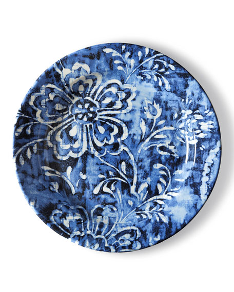 Cote D'Azur Floral Dinner Plate