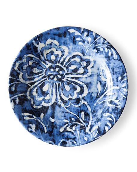 Cote D'Azur Floral Salad Plate