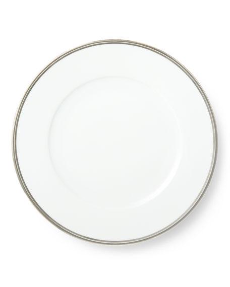 Wilshire Dinner Plate, Platinum