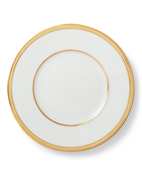 Wilshire Bread and Butter Plate, Gold