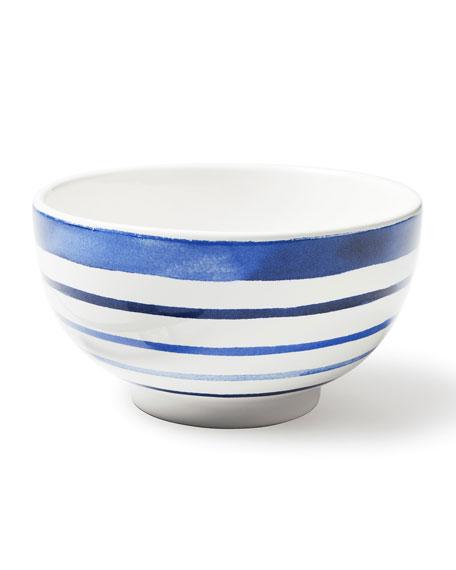 Cote D'Azur Stripe Cereal Bowl