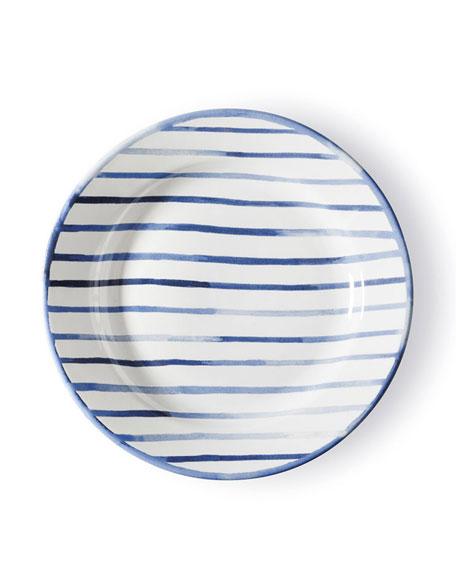 Cote D'Azur Stripe Salad Plate