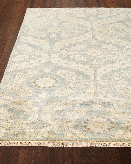 Monika Hand-Knotted Rug, 9'9