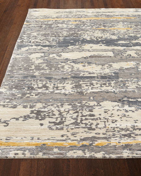 Hector Hand-Knotted Rug, 6' x 9'